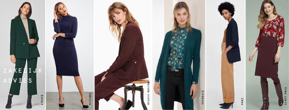 Top Individueel zakelijk kledingadvies dames - Kleurenpracht #QW39